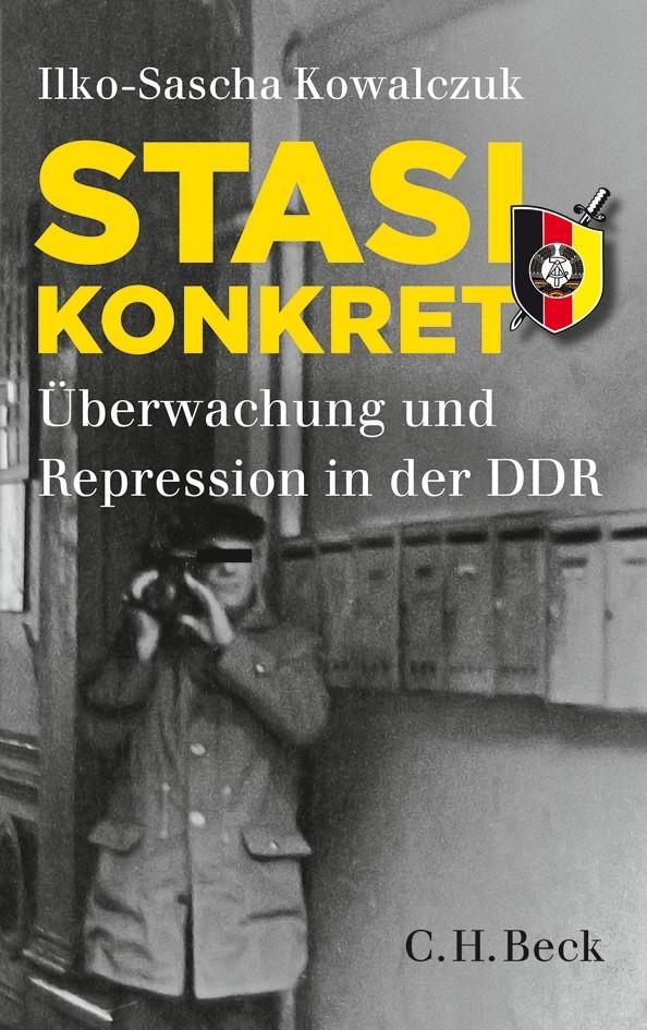Cover des Buches 'Stasi konkret'
