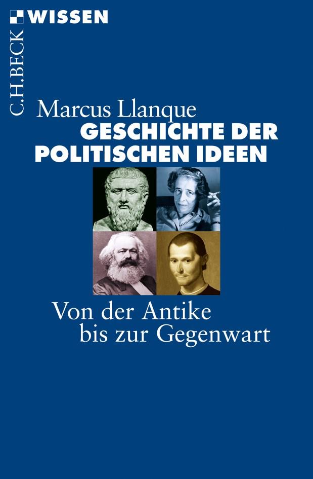 Cover des Buches 'Geschichte der politischen Ideen'
