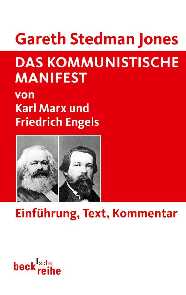 Cover des Buches 'Das Kommunistische Manifest'