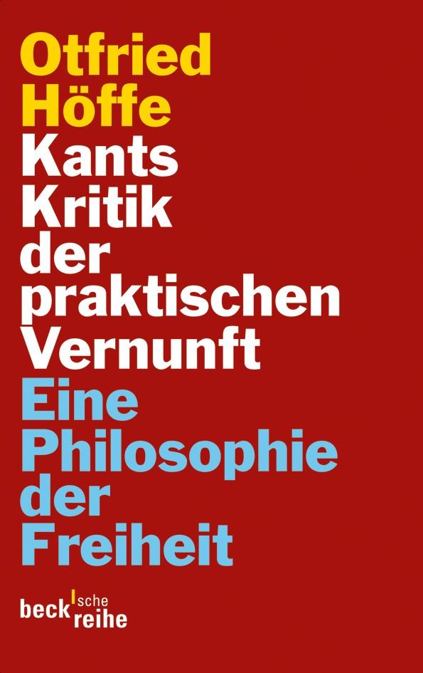 Cover des Buches 'Kants Kritik der praktischen Vernunft'