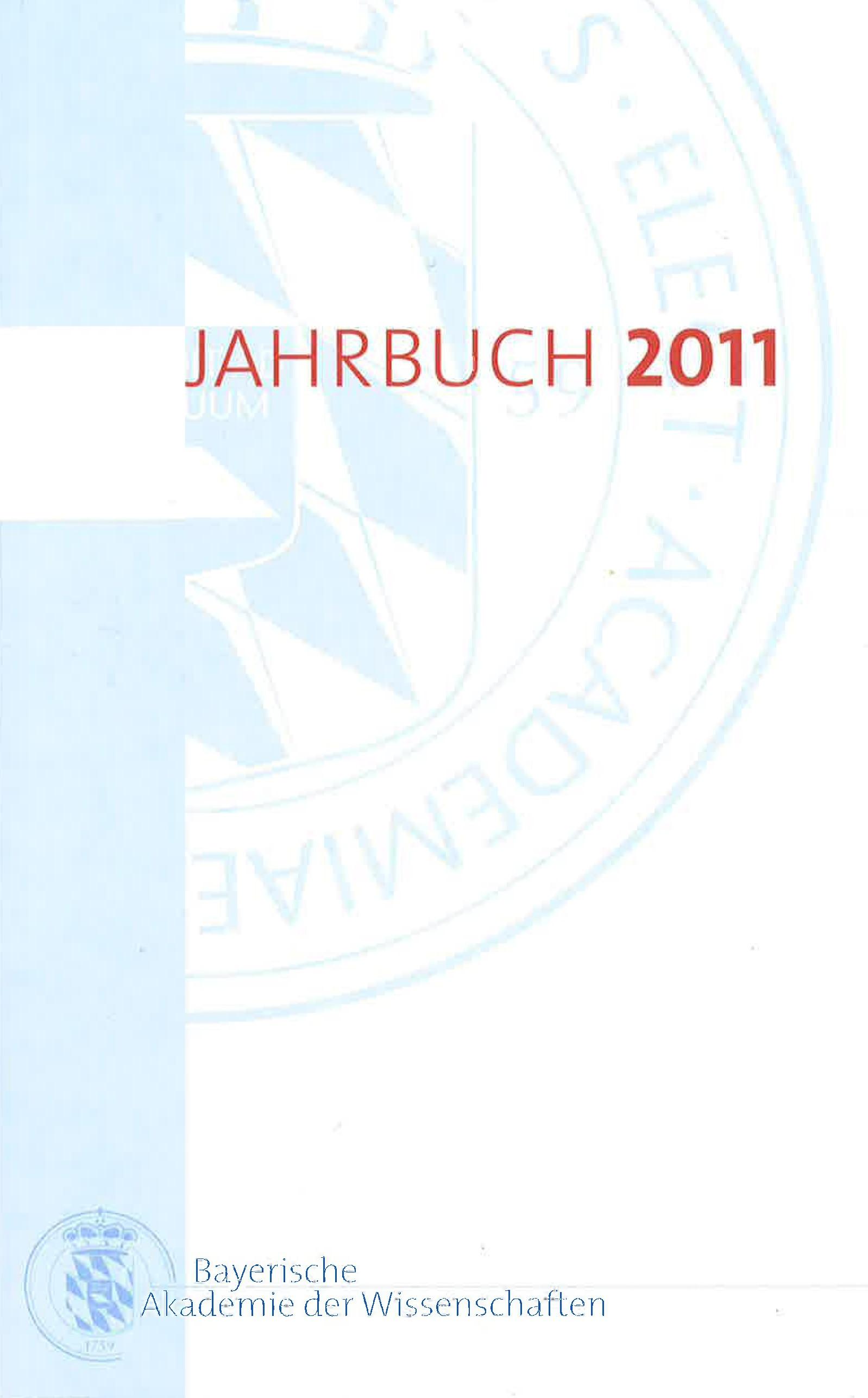 Cover des Buches 'Jahrbuch 2011'