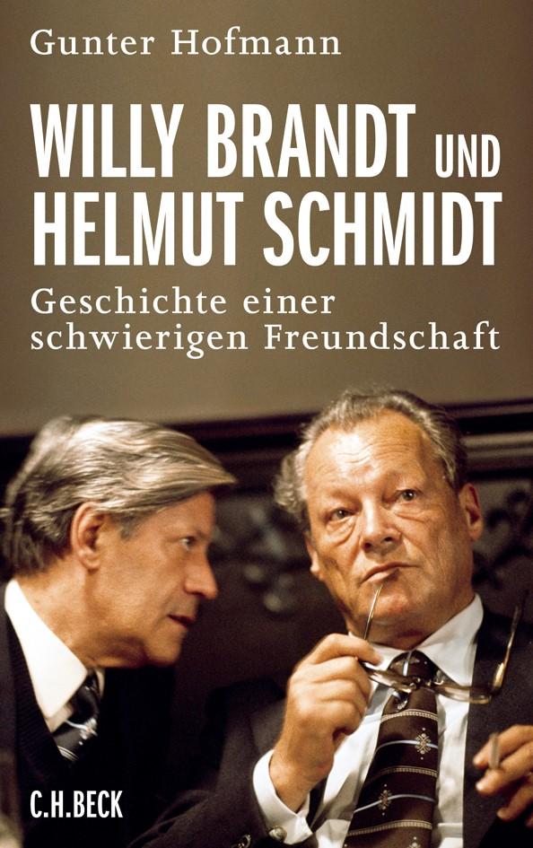 Cover des Buches 'Willy Brandt und Helmut Schmidt'