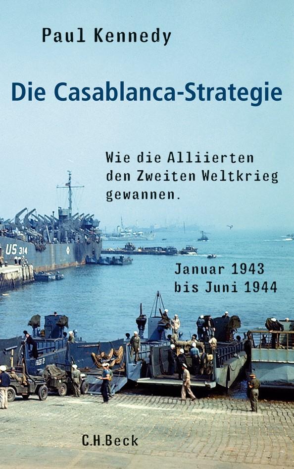 Cover des Buches 'Die Casablanca-Strategie'