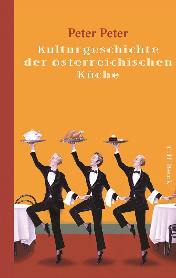 Cover des Buches 'Kulturgeschichte der österreichischen Küche'
