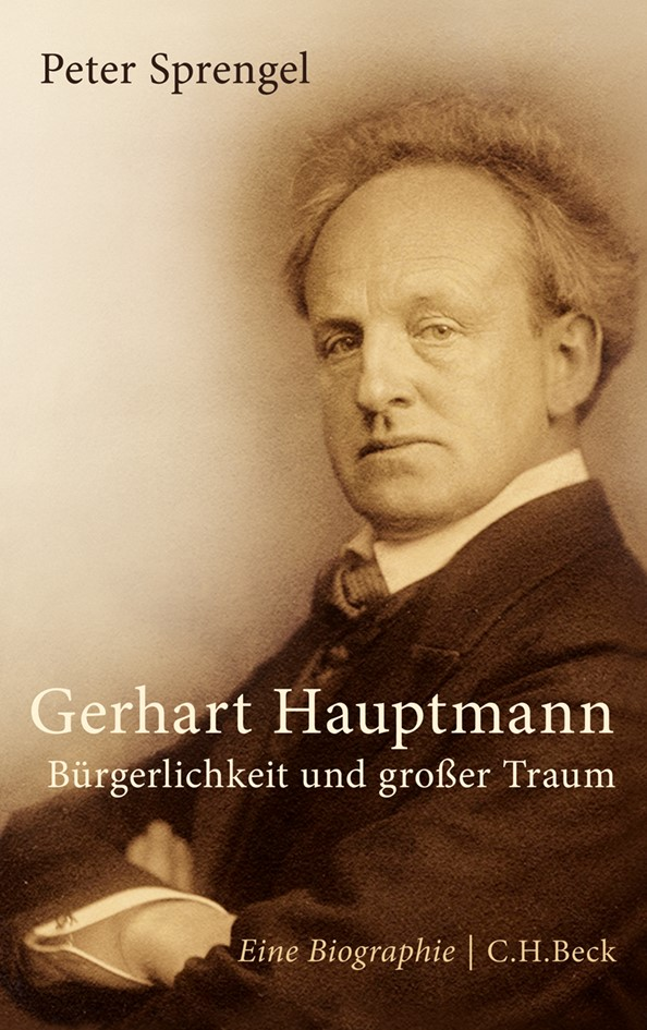 Cover des Buches 'Gerhart Hauptmann'