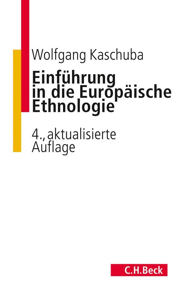 Cover des Buches 'Einführung in die Europäische Ethnologie'