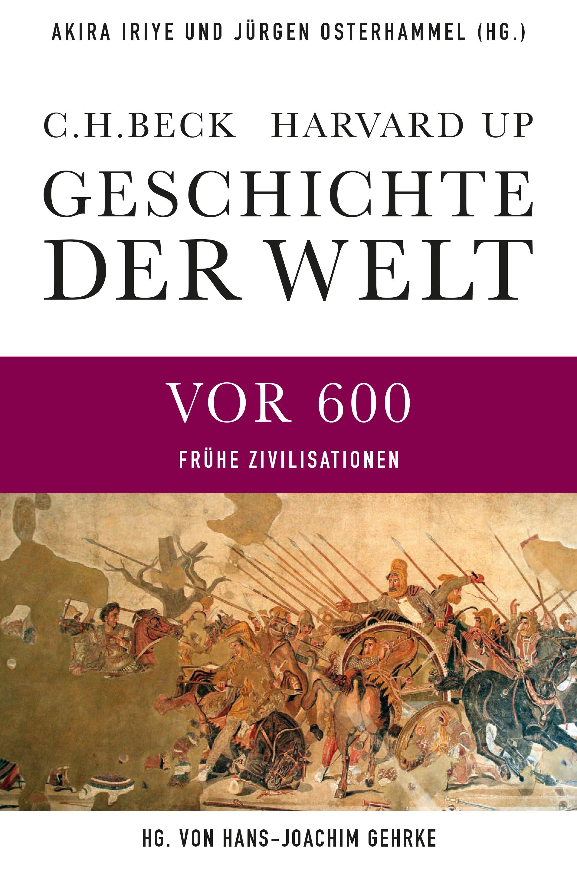 Cover des Buches 'Geschichte der Welt, Frühe Zivilisationen'