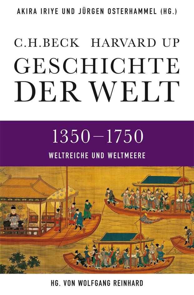 Cover des Buches 'Geschichte der Welt, Weltreiche und Weltmeere 1350-1750'