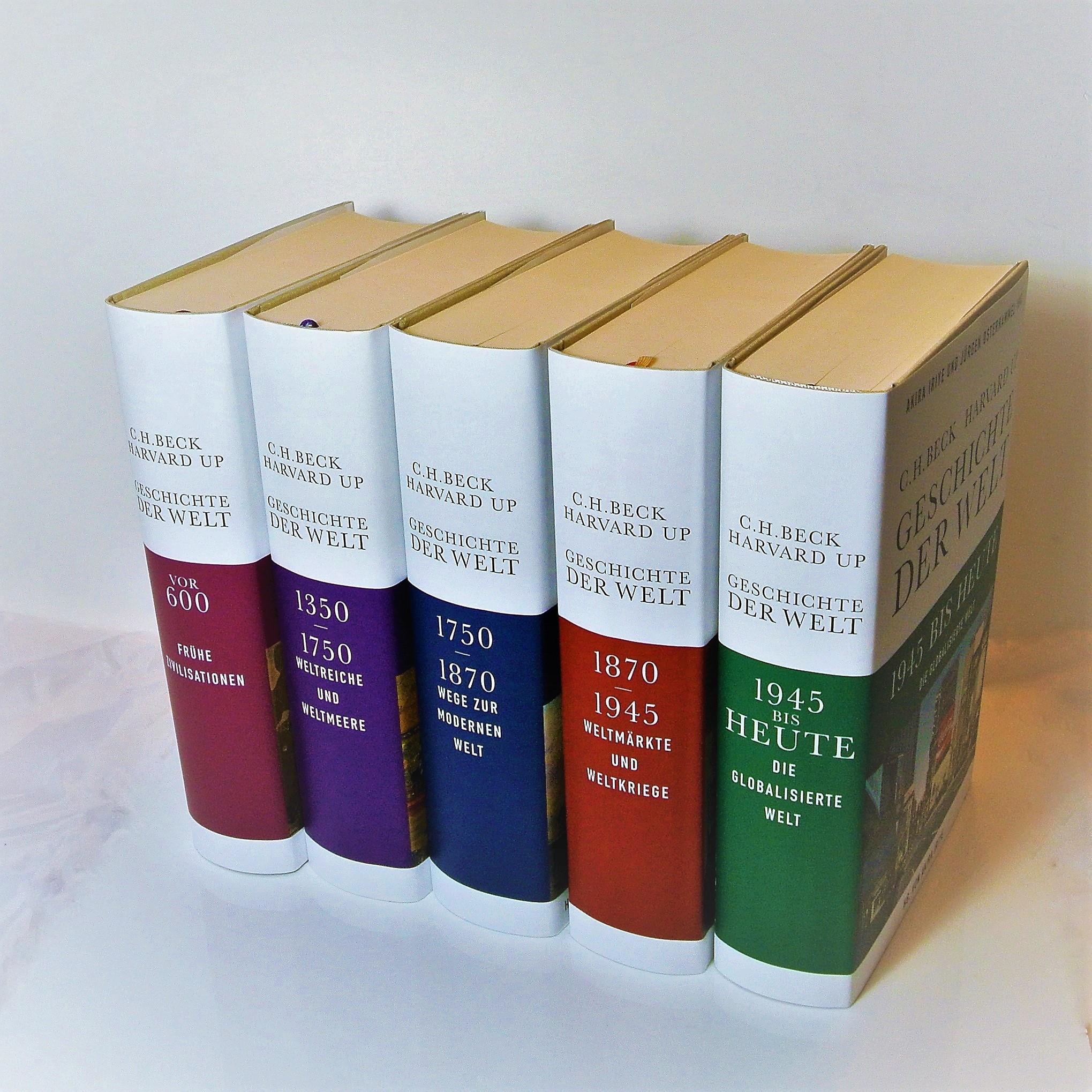 Cover des Buches 'Geschichte der Welt'