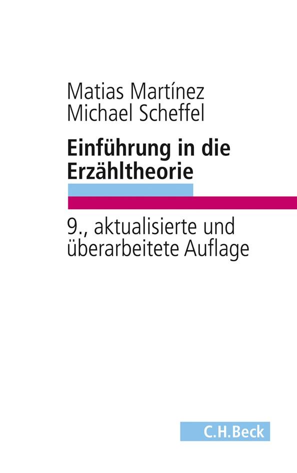 Cover des Buches 'Einführung in die Erzähltheorie'
