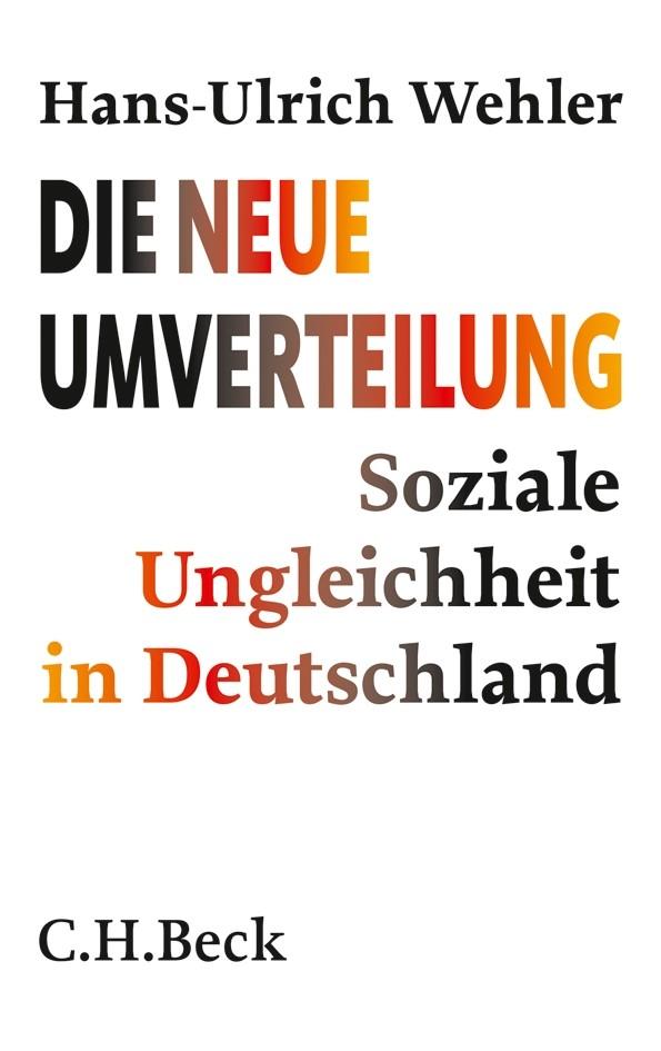 Cover des Buches 'Die neue Umverteilung'