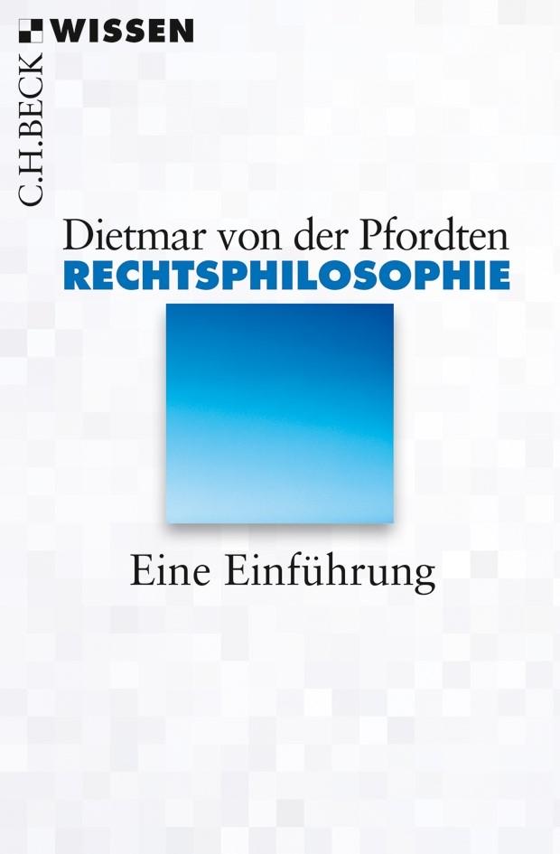 Cover des Buches 'Rechtsphilosophie'