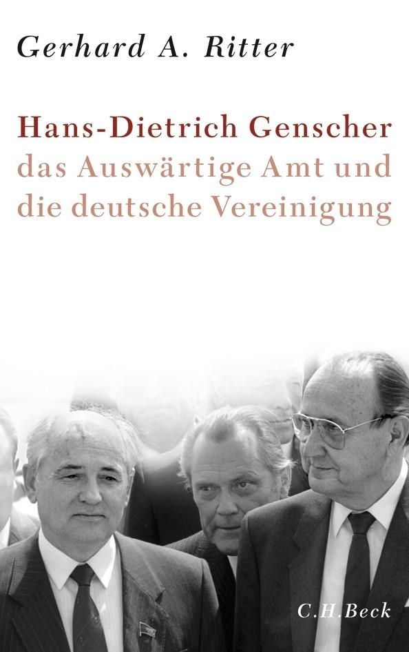 Cover des Buches 'Hans-Dietrich Genscher, das Auswärtige Amt und die deutsche Vereinigung'