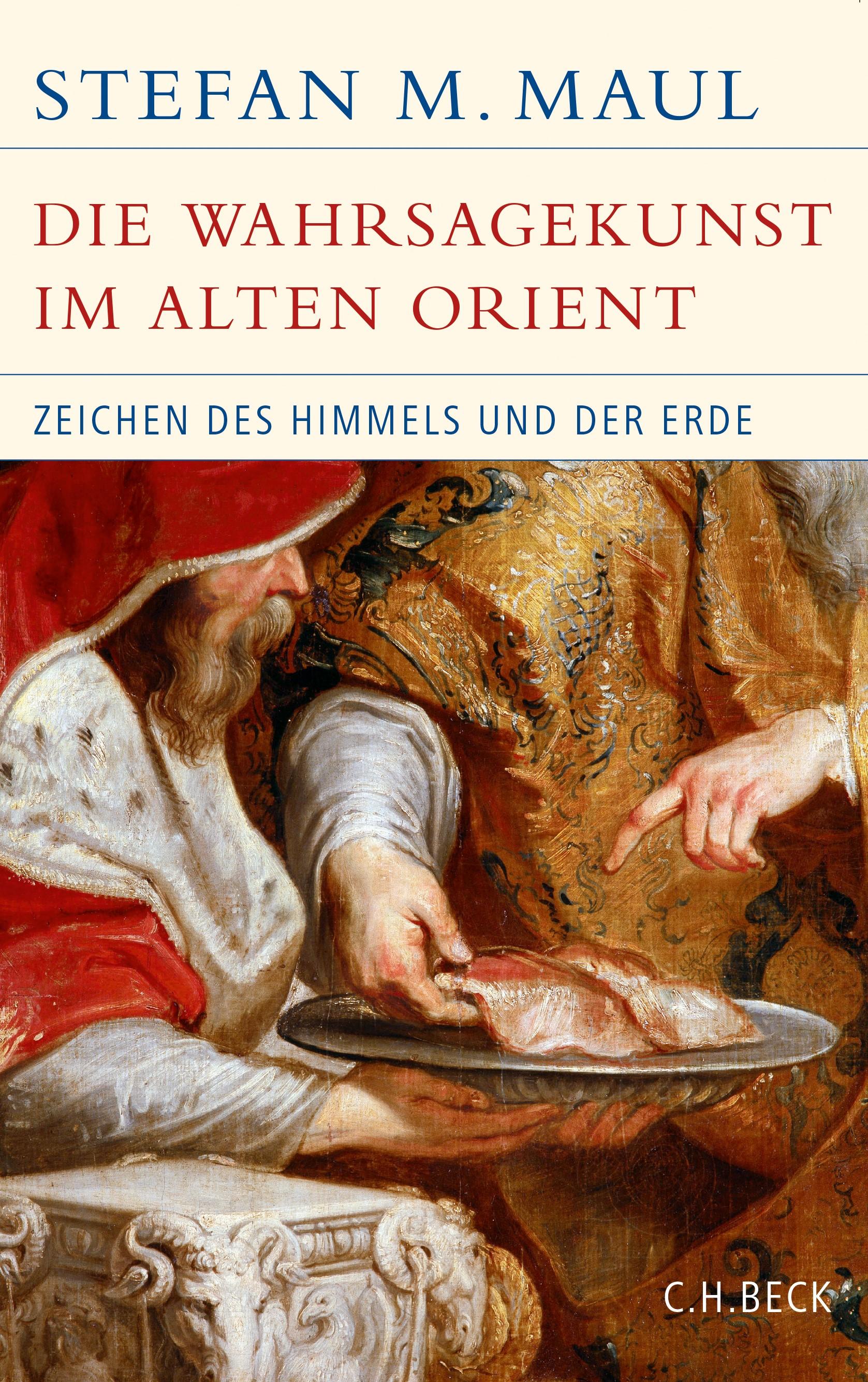 Cover des Buches 'Die Wahrsagekunst im Alten Orient'