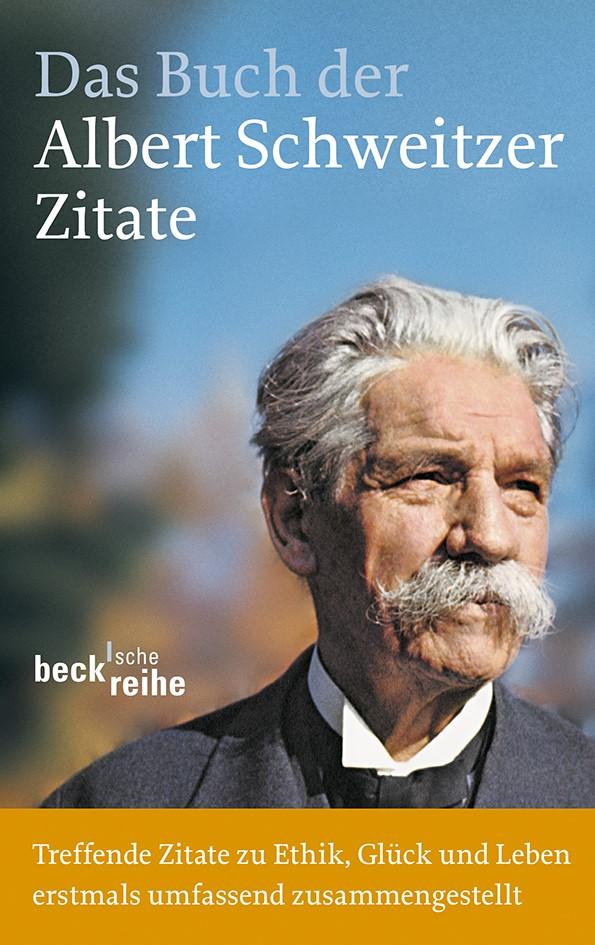 Cover des Buches 'Das Buch der Albert-Schweitzer-Zitate'