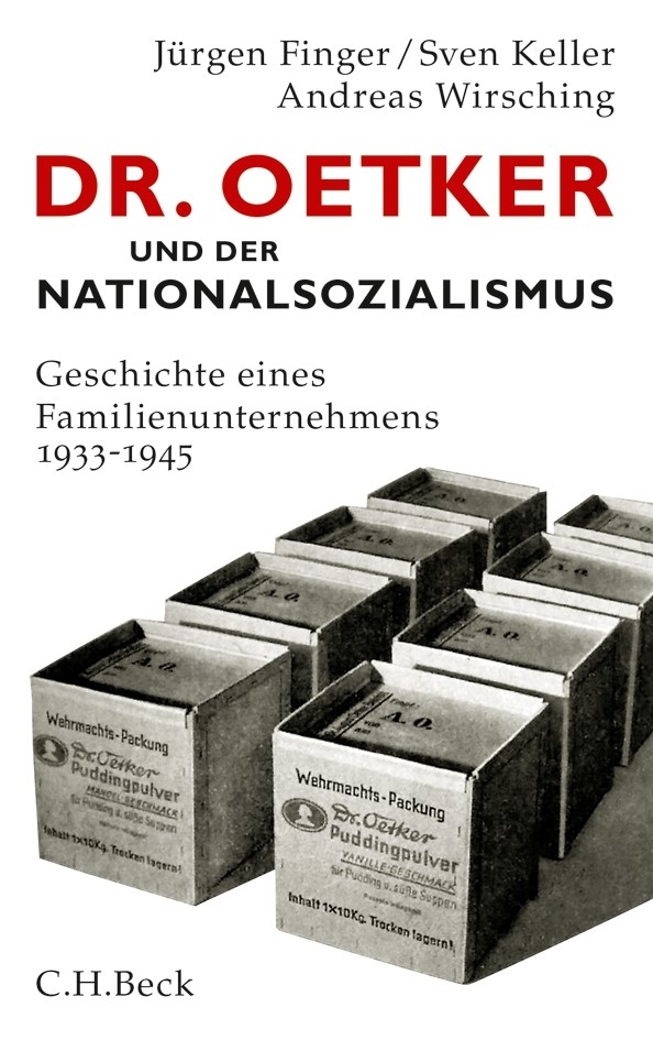 Cover des Buches 'Dr. Oetker und der Nationalsozialismus'