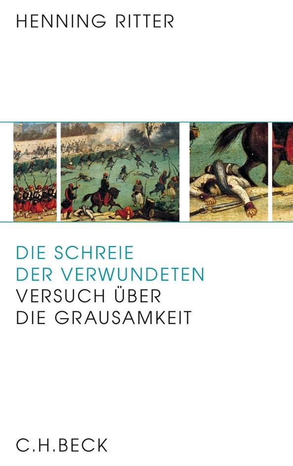 Cover des Buches 'Die Schreie der Verwundeten'
