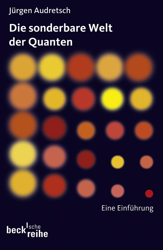 Cover des Buches 'Die sonderbare Welt der Quanten'