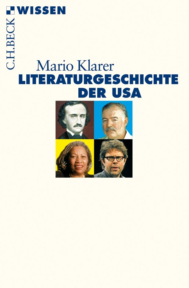 Cover des Buches 'Literaturgeschichte der USA'