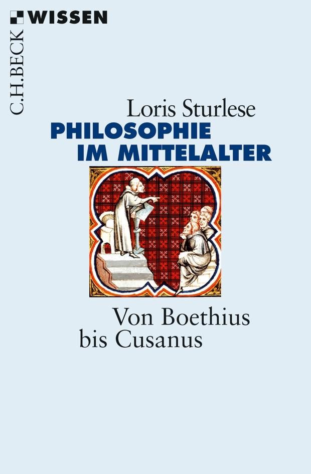Cover des Buches 'Die Philosophie im Mittelalter'