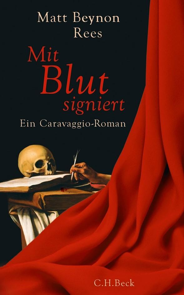 Cover des Buches 'Mit Blut signiert'