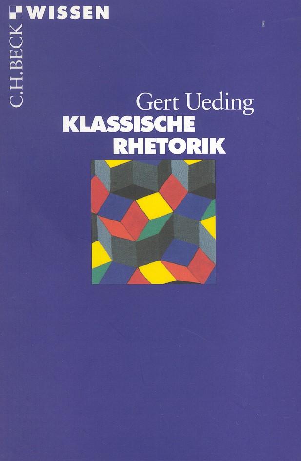 Cover des Buches 'Klassische Rhetorik'