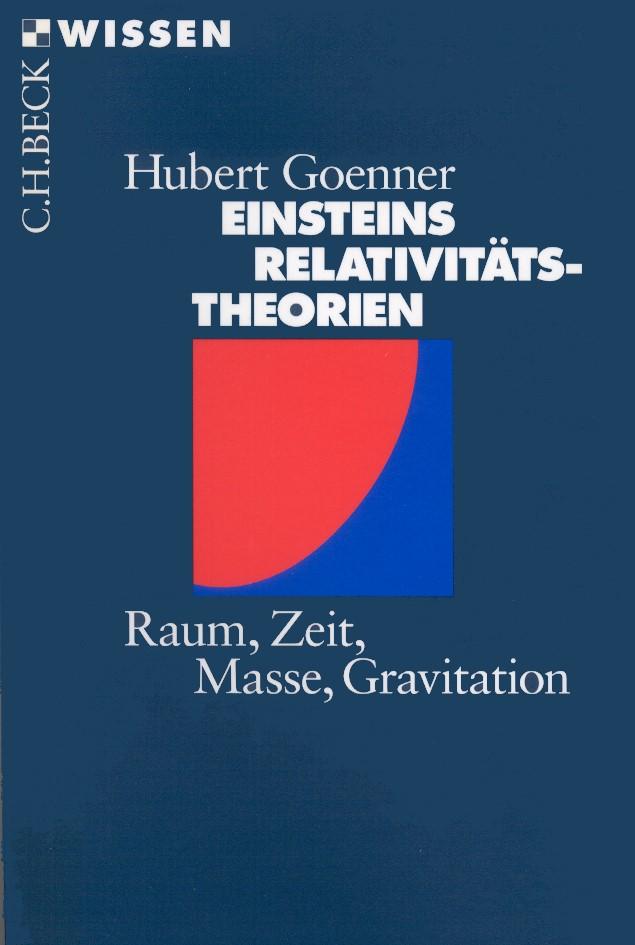 Cover des Buches 'Einsteins Relativitätstheorien'
