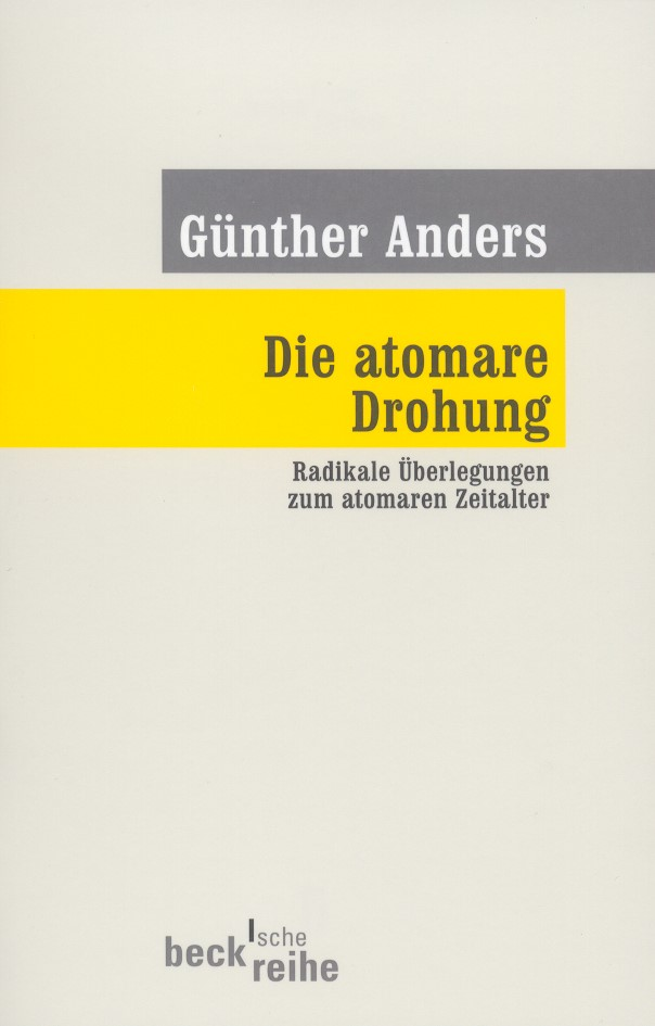 Cover des Buches 'Die atomare Drohung'