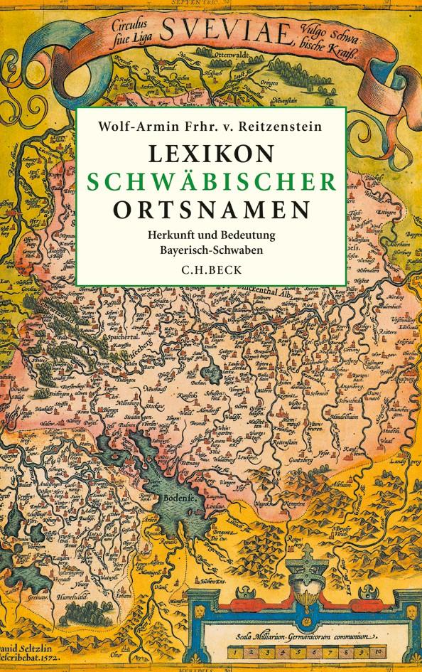 Cover des Buches 'Lexikon schwäbischer Ortsnamen'