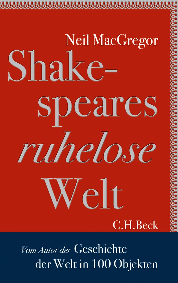 Cover des Buches 'Shakespeares ruhelose Welt'