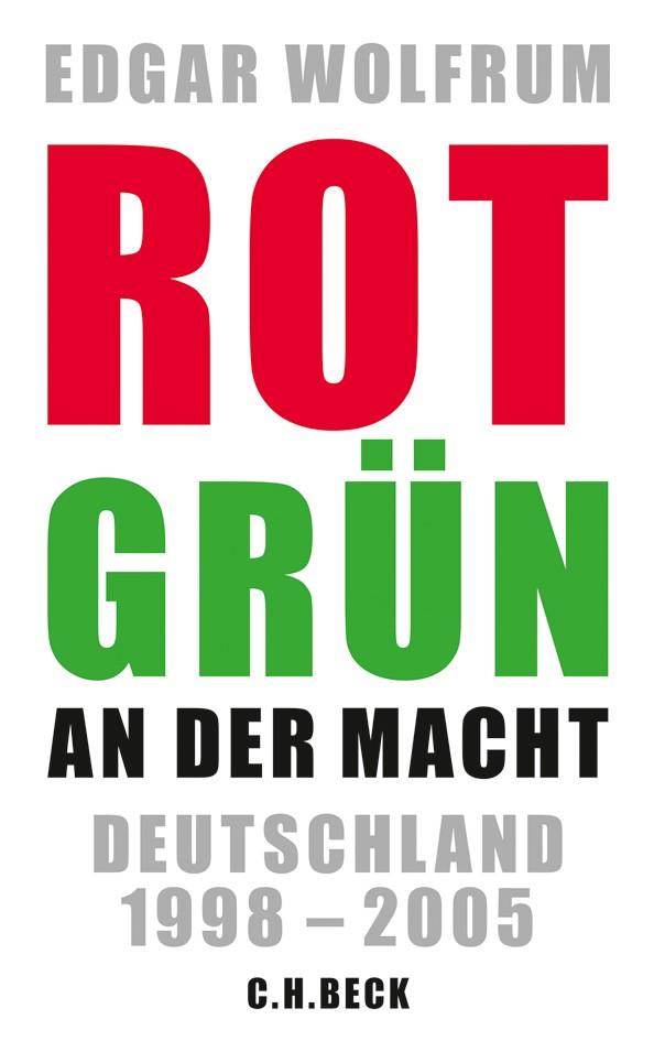Cover des Buches 'Rot-Grün an der Macht'