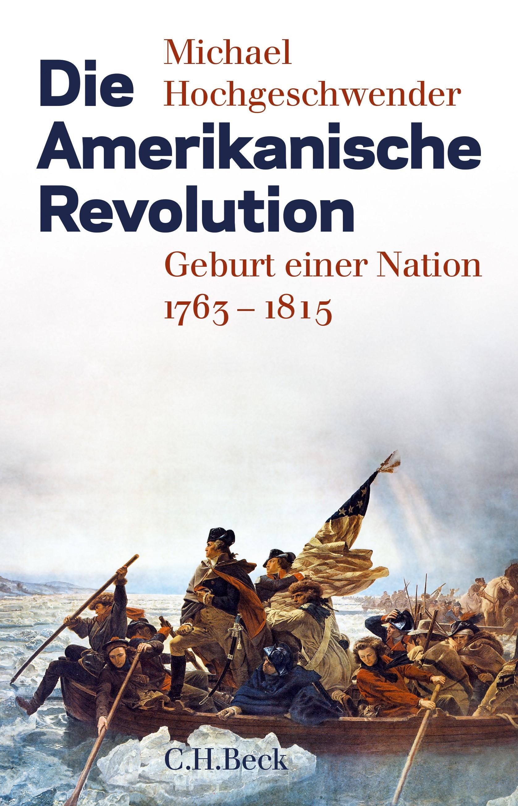 Cover des Buches 'Die Amerikanische Revolution'