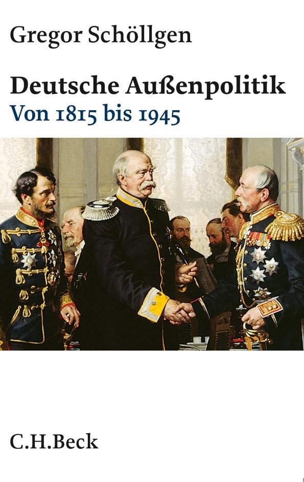 Cover des Buches 'Deutsche Außenpolitik'