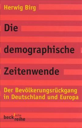 Cover des Buches 'Die demographische Zeitenwende'
