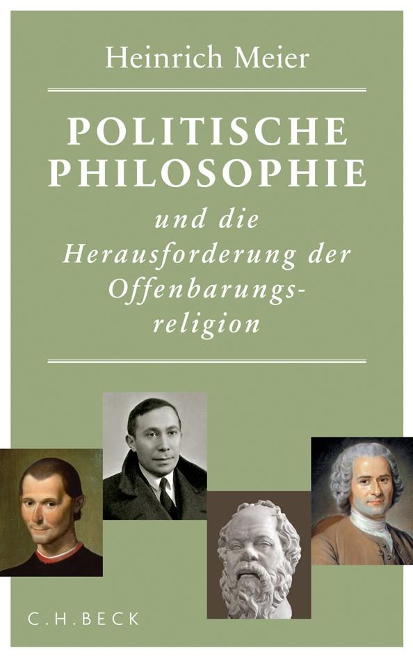 Cover des Buches 'Politische Philosophie und die Herausforderung der Offenbarungsreligion'
