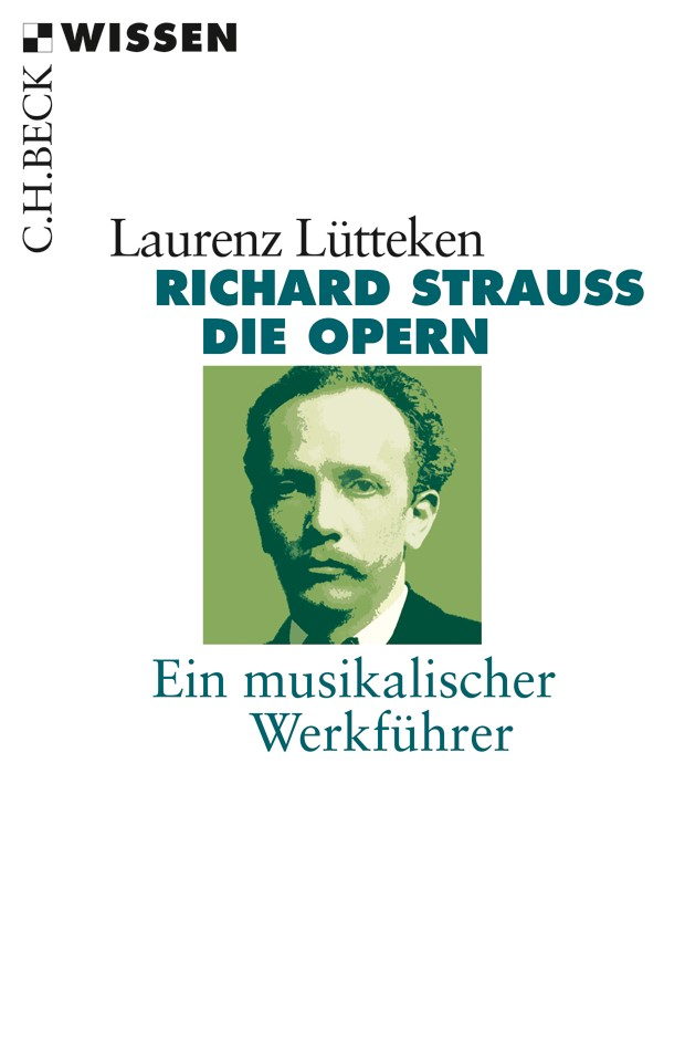 Cover des Buches 'Richard Strauss'