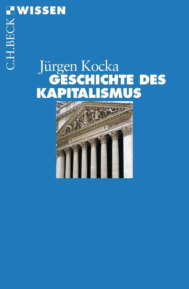 Cover des Buches 'Geschichte des Kapitalismus'