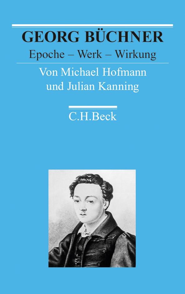 Cover des Buches 'Georg Büchner'