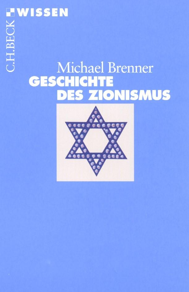 Cover des Buches 'Geschichte des Zionismus'