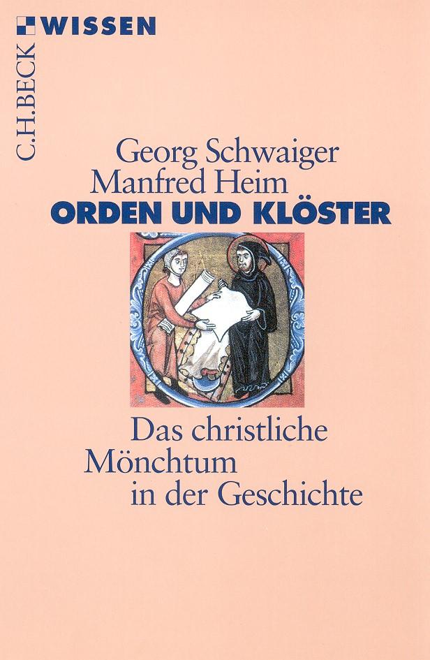 Cover des Buches 'Orden und Klöster'