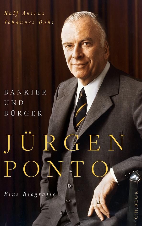 Cover des Buches 'Jürgen Ponto'