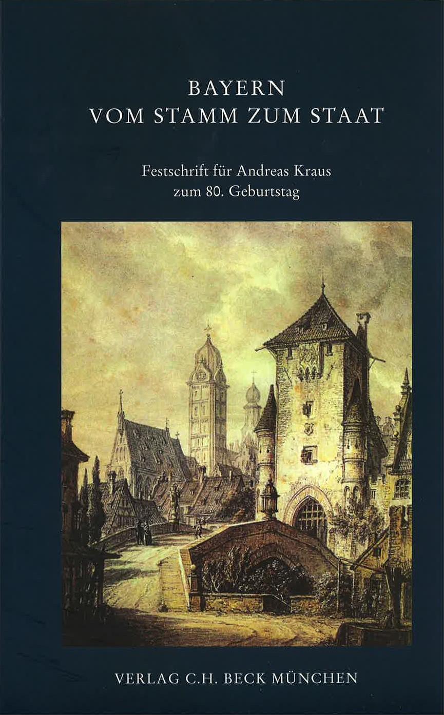 Cover des Buches 'Bayern vom Stamm zum Staat'