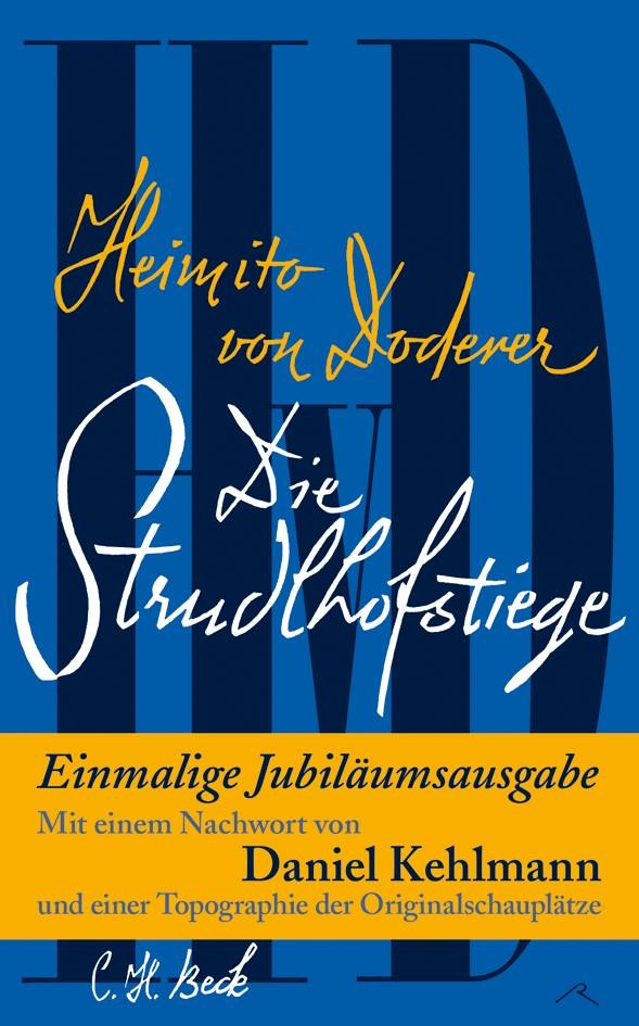 Cover des Buches 'Die Strudlhofstiege'