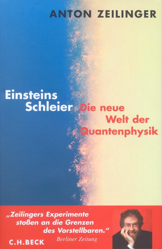Cover des Buches 'Einsteins Schleier'