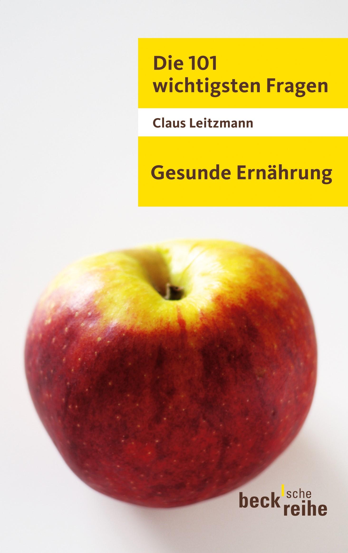 Cover des Buches 'Die 101 wichtigsten Fragen - Gesunde Ernährung'