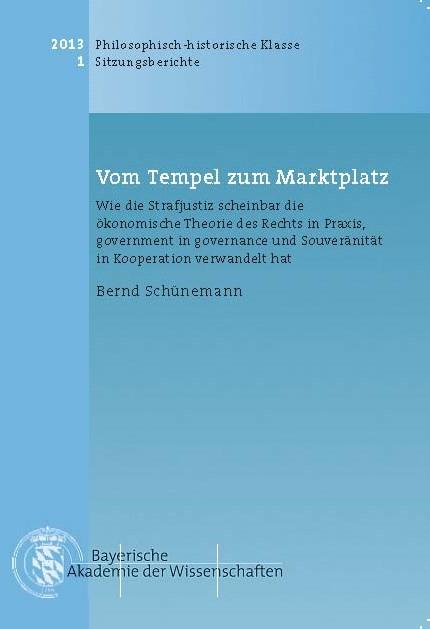 Cover des Buches 'Vom Tempel zum Marktplatz'