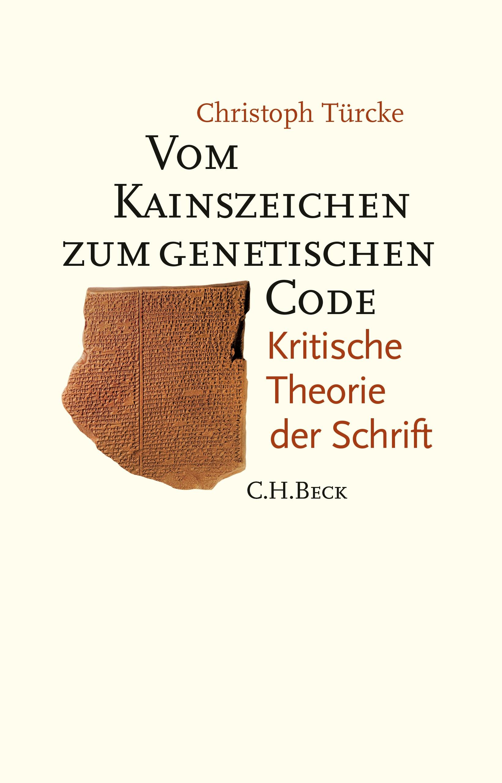 Cover des Buches 'Vom Kainszeichen zum genetischen Code'