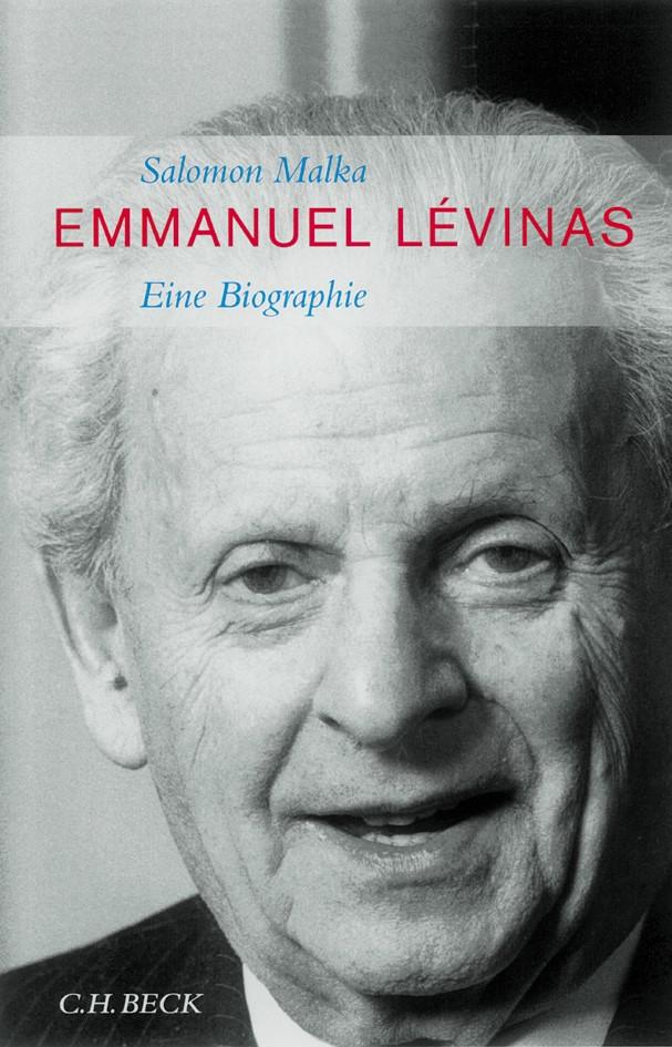 Cover des Buches 'Emmanuel Lévinas'