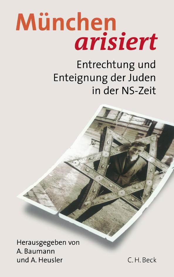 Cover des Buches 'München arisiert'