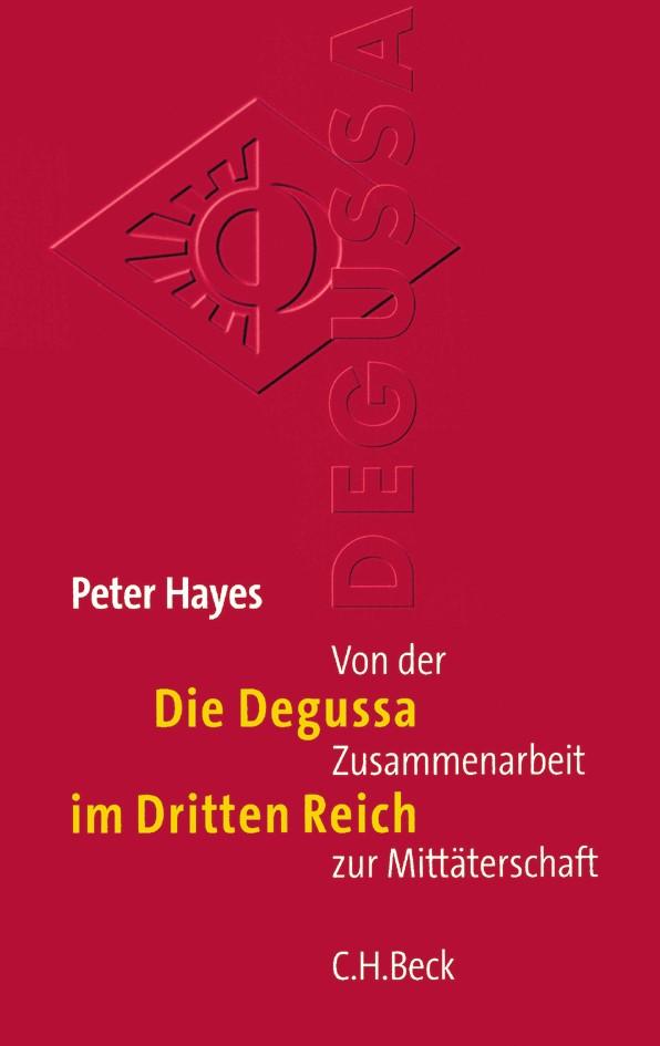 Cover des Buches 'Die Degussa im Dritten Reich'